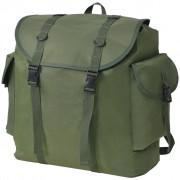 vidaXL Раница, войнишки стил, 40 л, зелена