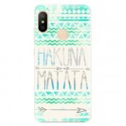 Odolné silikonové pouzdro iSaprio - Hakuna Matata Green - Xiaomi Mi A2 Lite