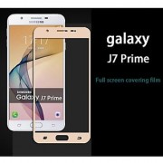 BY BBR SAMSUNG J7 PRIME GOLD colour tempered glass