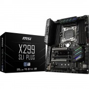 Matična ploča MSI X299 SLI PLUS Baza Intel® 2066 Faktor oblika ATX Set čipova matične ploče Intel® X299
