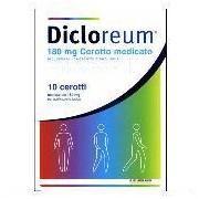 Alfasigma Spa Dicloreum Ant Loc 180 Mg Cerotto Medicato, 10 Cerotti