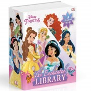DK Publishing 11 libros Disney Princess: The Enchanted Library (estuche)