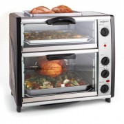 All-You-Can-Eat Forno duplo com churrasqueira 42l 2400 W