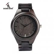 Bobo Bird Fekete Bambusz Karóra