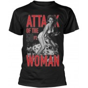 Plan 9 Attack Of The 50ft Woman Black T-Shirt XL
