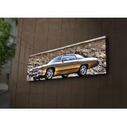 Tablou pe panza iluminat Ledda, 254LED1209, 30 x 90 cm, panza