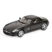 Pma 1/18 Mercedes Benz Sls Amg 2010 Matt Black (Japan Import)