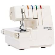 Masina de surfilat Minerva Overlock M2020, 11 tipuri de cusatura, 1300 rpm, Alb