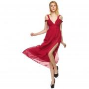 Vestido Casual Modaling Vino Rojo