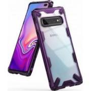 Husa Samsung Galaxy S10 Plus Ringke FUSION X Transparent Violet