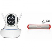 Zemini Wifi CCTV Camera and B13 Bluetooth Speaker for SAMSUNG GALAXY CORE MINI 4 G(Wifi CCTV Camera with night vision |B13 Bluetooth Speaker)