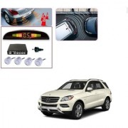 Auto Addict Car Silver Reverse Parking Sensor With LED Display For Mercedes Benz GLC-Class
