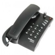 Telefone com Amplificador Interno modelo Pleno Preto