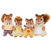 Epoch Sylvanian Families Sylvanian Family Doll Fs-17 Family Of Walnut Squirrel (Japan Import)
