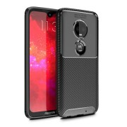 Olixar Carbon Fibre Motorola Moto G7 Plus Case (Black)
