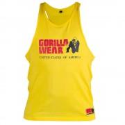 Gorilla Wear Classic Tank Top Yellow - M