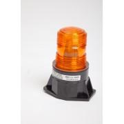 Girofar Galben LED - dimensiune compacta - prindere in 2 puncte