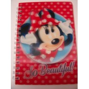 "Disney Minnie Mouse Bow-tique 3D Journal ~ Minnie, So Beautiful (4"" x 5.75""; 50 Sheets, 100 Pages)"