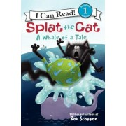 Splat the Cat: A Whale of a Tale, Paperback