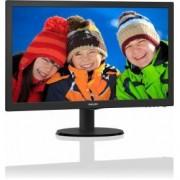 """Philips 223V5LHSB2 21.5"""" Zwart Full HD"""