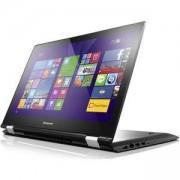 Лаптоп LENOVO YG500-15ISK /80R6007EBM, Intel Core i7-6500U, 8GB, 1TB, 15.6 инча FHD, Черен