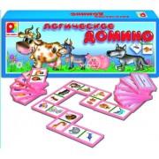 """Настольная игра """"Логическое домино. Животные"""" С-534"""