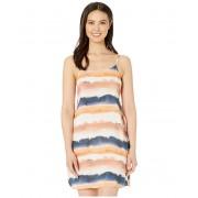Lucky Brand Sonoma Sky Side-Tie Slip Dress Cover-Up Multi