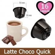 Caffè Kickkick 16 Latte Choco Quick Nescafè Dolce Gusto Capsule Compatibili