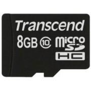 Card de memorie Transcend microSDHC, 8GB, Clasa 10