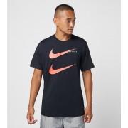 Nike Double Swoosh T-Shirt, svart