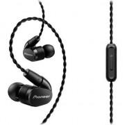 Casti Hi-Res Audio in-ear Pioneer SE-CH5T-K, airflow control, control telefon, Negru