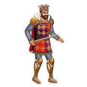 Beistle Jointed Royal King & Queen Accesorio para Fiesta (1 Unidad) (1/Pkg)