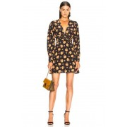 Veronica Beard Marion Dress in Black,Floral. - size 4 (also in 0,10,2,6,8)