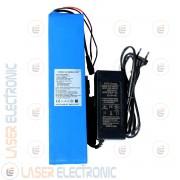 Batteria a Litio per Bici Elettrica Scooter 36V DC 12AH max Discarge 2C 30AH