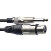 Starion ST-MC20-XP Microphone Cable - XLR to Jack Plug - 20 Feet Length