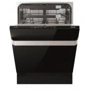 Masina de spalat vase Gorenje Ora-Ito GV60ORAB, Incorporabila, 16 Seturi, 5 Programe, Digital Touch, Clasa A+++, 60 cm, Usa cu panel sticla neagra