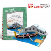 Puzzle 3D Podul Rialto, 29 piese