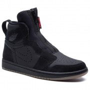 Обувки NIKE - Air Jordan 1 High Zip AR4833 002 Black/University/Red/Black
