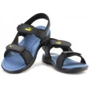 Puma Men black-ultramarine-blazing yell Sports Sandals