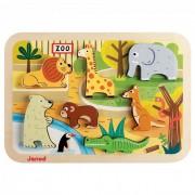3D puzzle-állatkert Janod