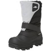 Tundra Quebec Boot (Toddler/Little Kid/Big Kid),Black/Grey,9 M US Toddler
