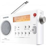 PR-D7 W Táskarádió AMFM akkumulátor töltéssel fehér