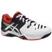 Asics GEL - CHALLENGER 10 - T/SKYCAPTAIN/ORG Tennis Shoes For Men(Multicolor)