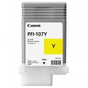 Cartus cerneala Canon PFI-107Y, yellow, capacitate 130ml