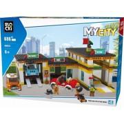 Joc constructie, My City, Statie service, 686 piese Blocki