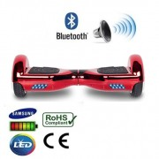 "6.5"" Red Chrome Bluetooth Segway Hoverboard"