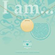Heart to get IAM413N-IAMSTR-G i am... strong …ketting zilver goudkleurig