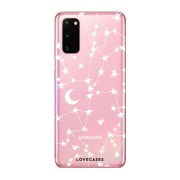 LoveCases Samsung Galaxy S20 Starry Clear Phone Case (Clear, Special Import)