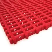 Červená olejivzdorná protiskluzová průmyslová univerzální rohož - 1000 x 120 x 1,2 cm (80000842) FLOMAT