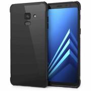 Caseflex Samsung Galaxy A8 (2018) Alpha TPU Gel Case - Black